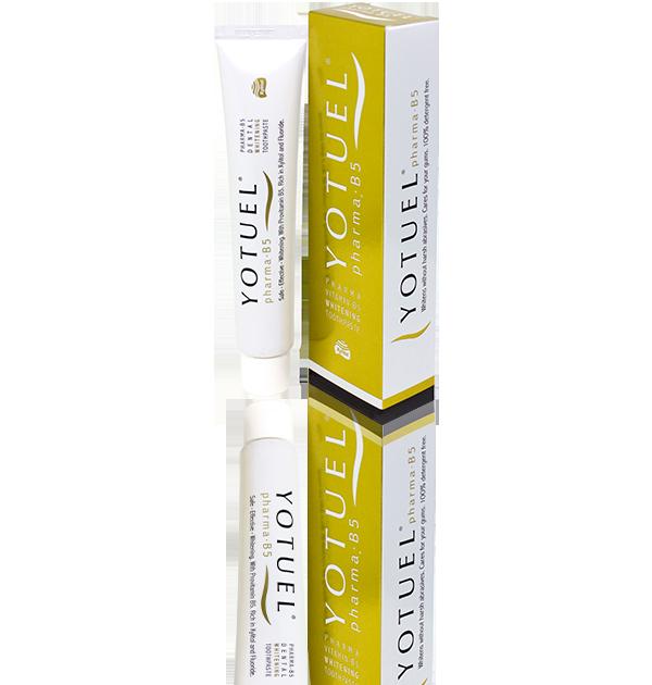Οδοντόκρεμα λεύκανσης δοντιών με βιταμίνη Β5 YOTUEL pharma B5